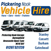 PICKERING NOOK VAN HIRE