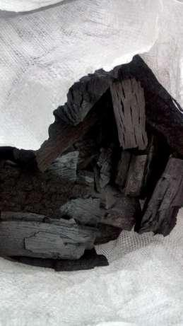 Древесный уголь - из дуба и граба