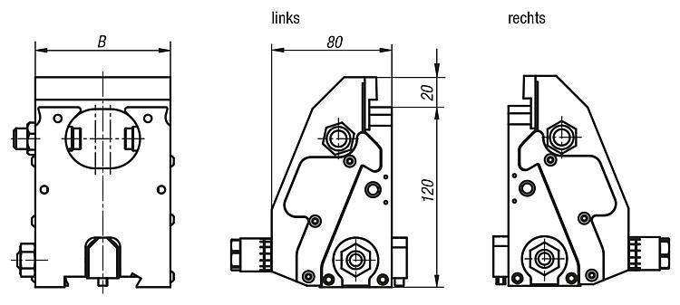 Spanntechnik - Spannbacken komplett