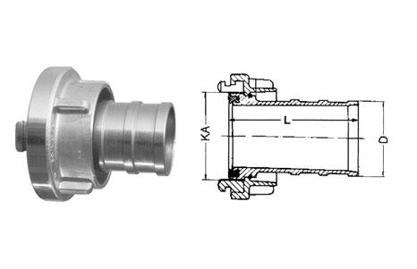 Storz couplings - Suction coupling
