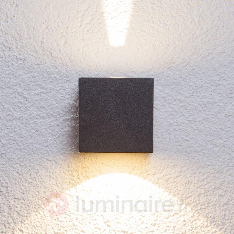 Applique d'extérieur LED Jarno coloris graphite - Appliques d'extérieur LED