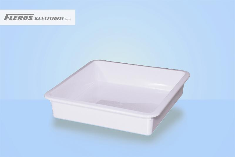 Sealing bowls - FK 2.000 rectangular bowl, able to seal