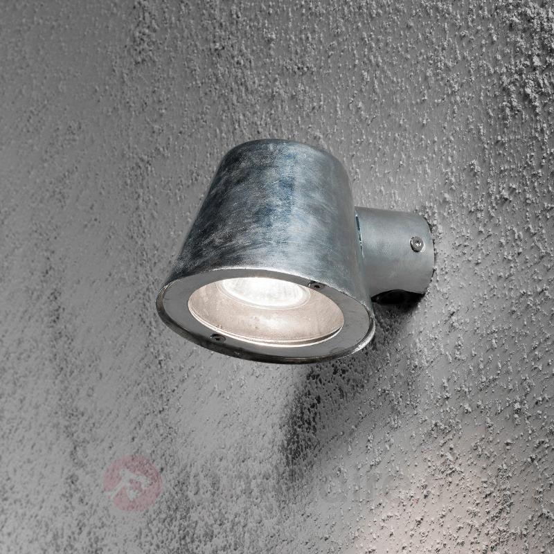 Petite applique d'extérieur Trieste en acier - Toutes les appliques d'extérieur
