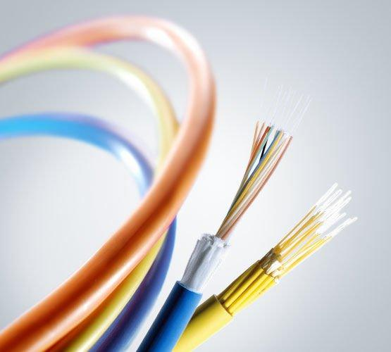 Fiber Optic Cables - wide ranging industrial applications