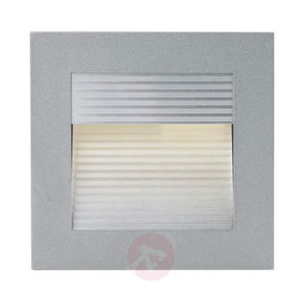 LED recessed wall light EWHL, die-cast aluminium