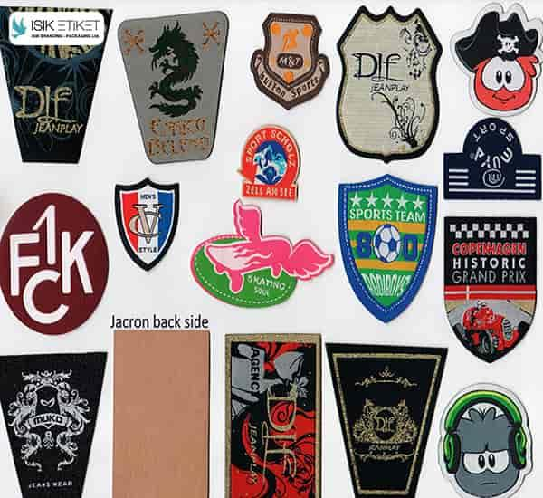 Laser Cut Labels, Woven Pathches, Badges,