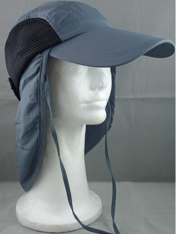 Hut mit einem Schutz