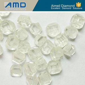 Diamante sintético blanco de HTHP áspero -