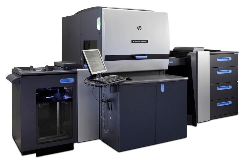 Presse HP Indigo 7800