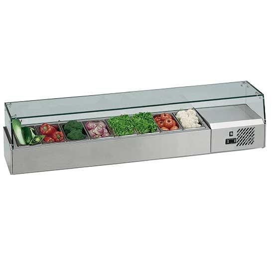 Pizzeria - pan cooler 8x GN 1/4, +2 °C/+8 °C - FAULTY