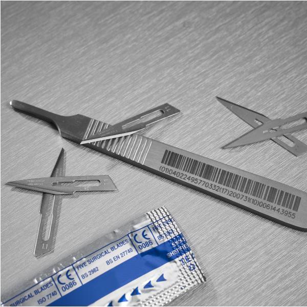 Strumenti chirurgici - Tutte le soluzioni per la codifica e marcatura su strumenti chirurgici