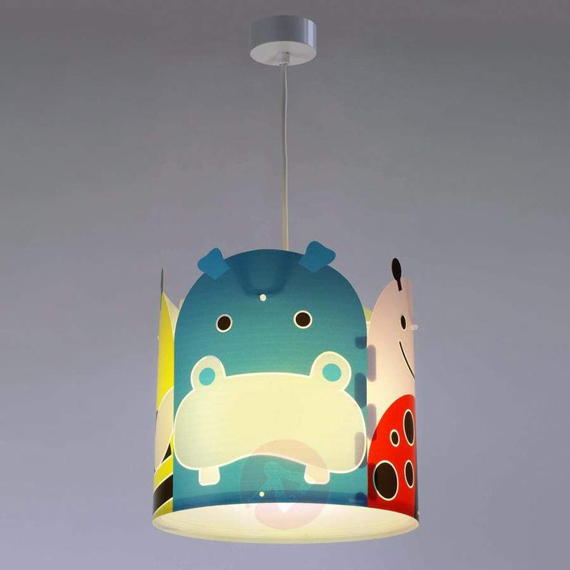 Animal theme pendant light Big Friends - Pendant Lighting