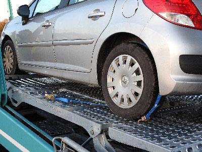 Transport de voiture -