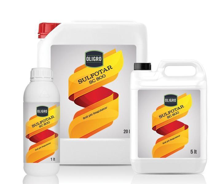 oligro sulfotar sc 800 - organic - organomineral fertilizers