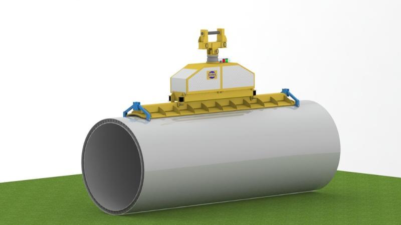 Palonnier de manutention de virole de mât éolien