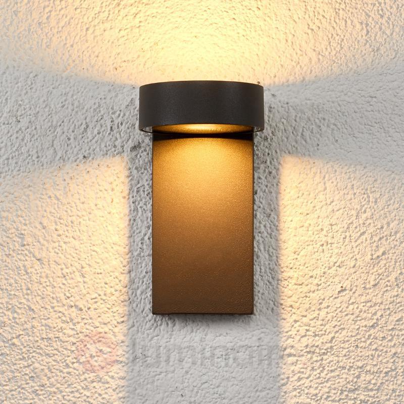 Applique extérieure LED à deux têtes Ksenia - Appliques d'extérieur LED