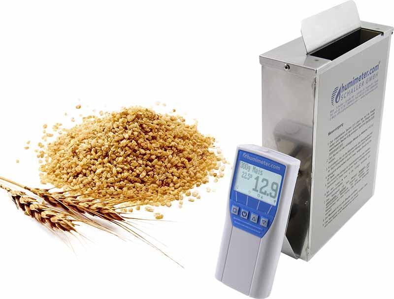 Ganzkorn Getreide Feuchtemessgerät - humimeter FS2