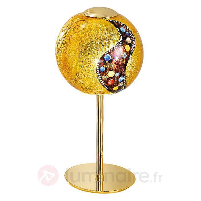 Magnifique lampe à poser Klimt LEONA KISS - Lampes à poser designs