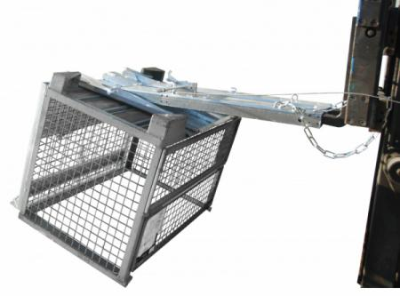 Kippomat type KG - For transporting, emptying and cleaning EURO-pallet cages