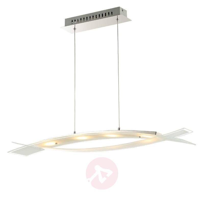 Frosted glass - LED hanging light Elina - Pendant Lighting