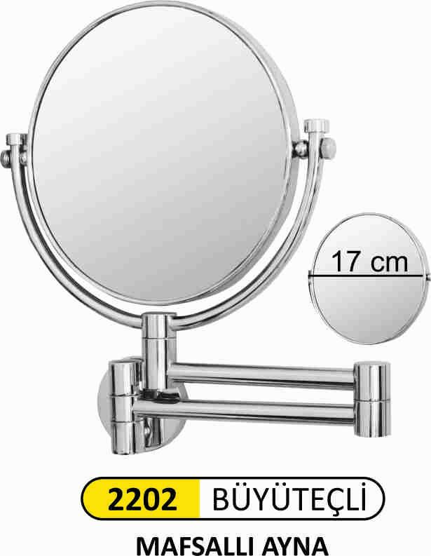 Brass Made Joint Make up mirror - High quality brass made Make up Mirror with Joint