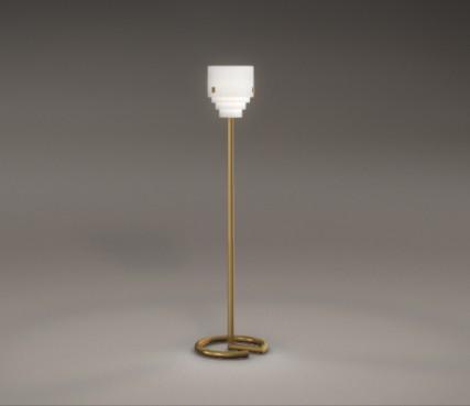 Art deco floor lamp - Model 1 C