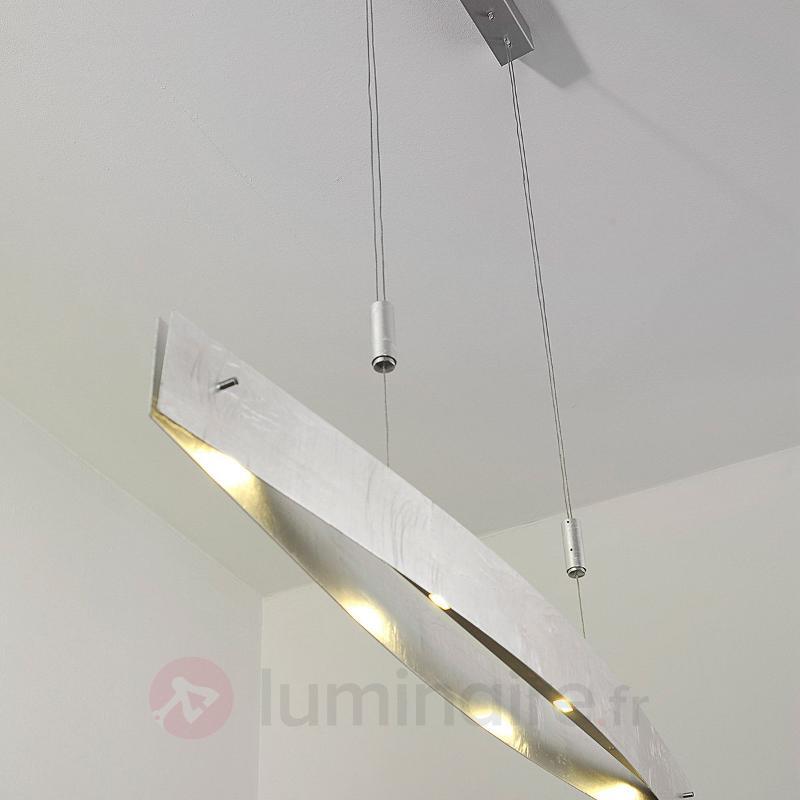 Suspension LED Malu argent antique 119 cm - Suspensions LED