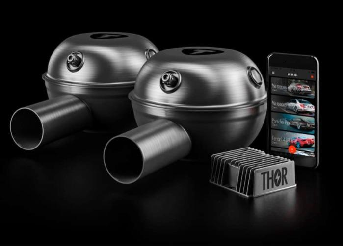 Thor electronic exhaust system - 2 loudspeaker -95db sound is similar to the sound of Mercedes-AMG C