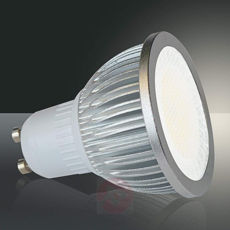GU10 5W 830 high voltage LED reflector light, 90° - light-bulbs