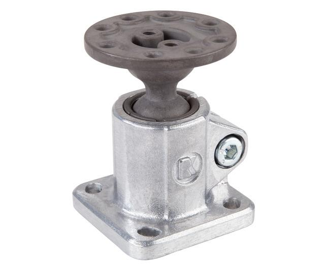 Solid Clamps with ball joint -