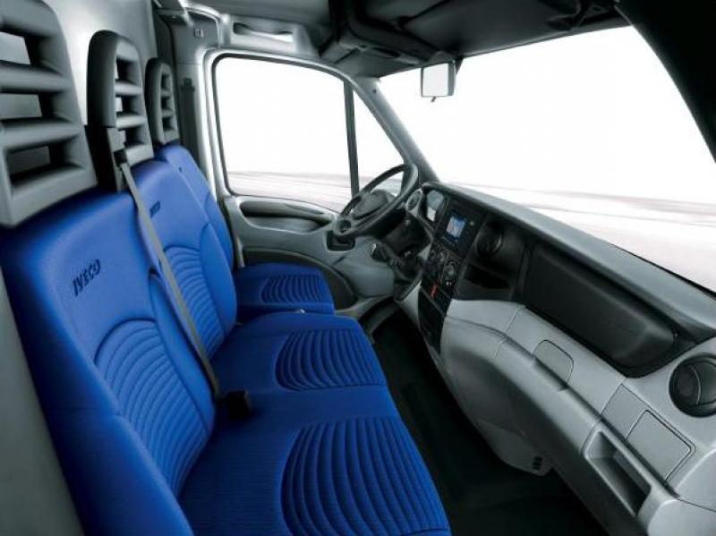 Assise mousse pour Iveco Daily bi-place - assisedailybiplace