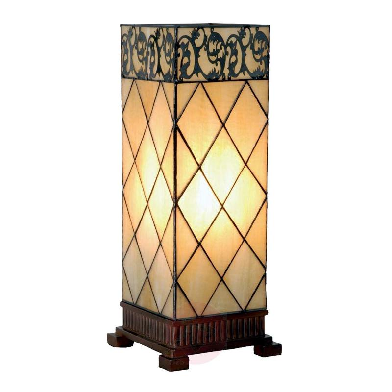 Table lamp Diamond, Tiffany-style 45 cm - Table Lamps