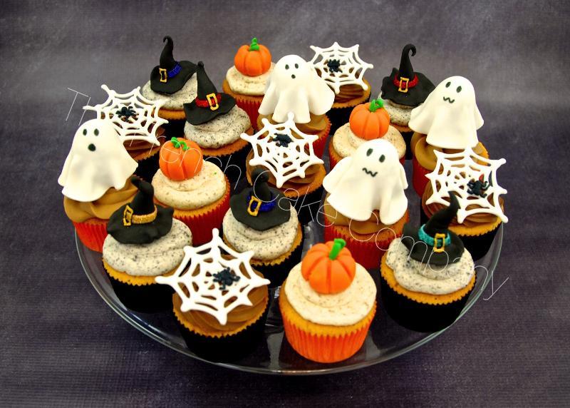 Gâteaux et Pièces Montées sur-mesure - cupcakes Halloween