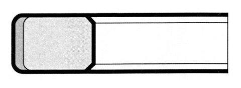 E5 Cromato normale - Segmenti di compressione a Milano