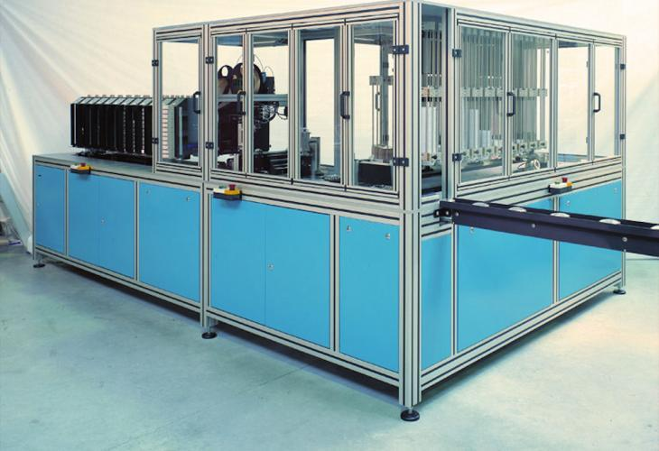 Automatic Packaging Unit for Semi-Finished Lenses