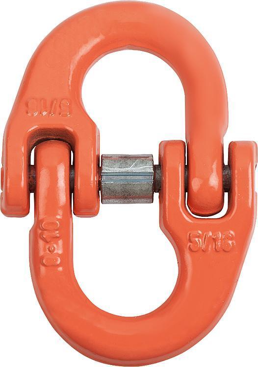 Maillon de liaison classe 10 - Anneaux de levage fixes et pivotants, anneaux à broche autobloquante