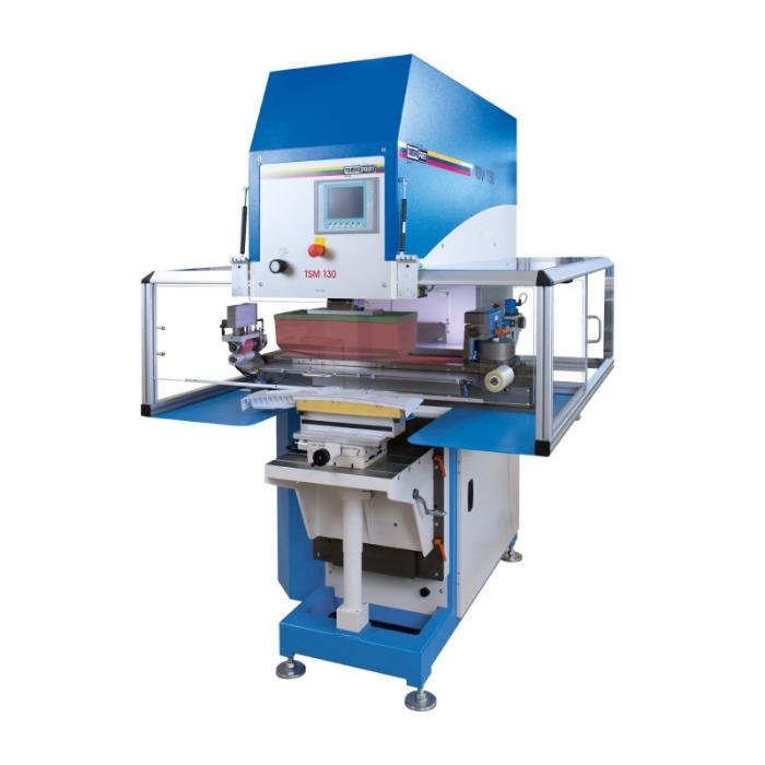 TSM Tampondruckmaschinenserie - Flexible-Serien-Tampondruckmaschine für große oder lange Druckbilder.