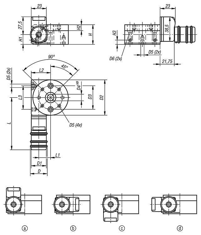 Tables de positionnement circulaire avec indicateur de... - Système de positionnement