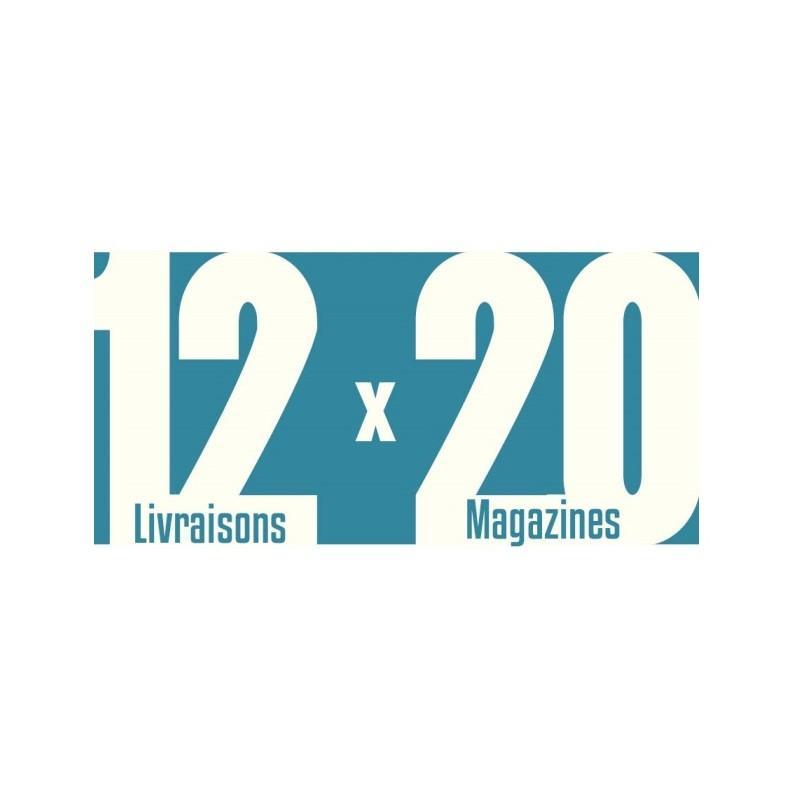 Magazines invendus 12 livraisons x 20 magazines