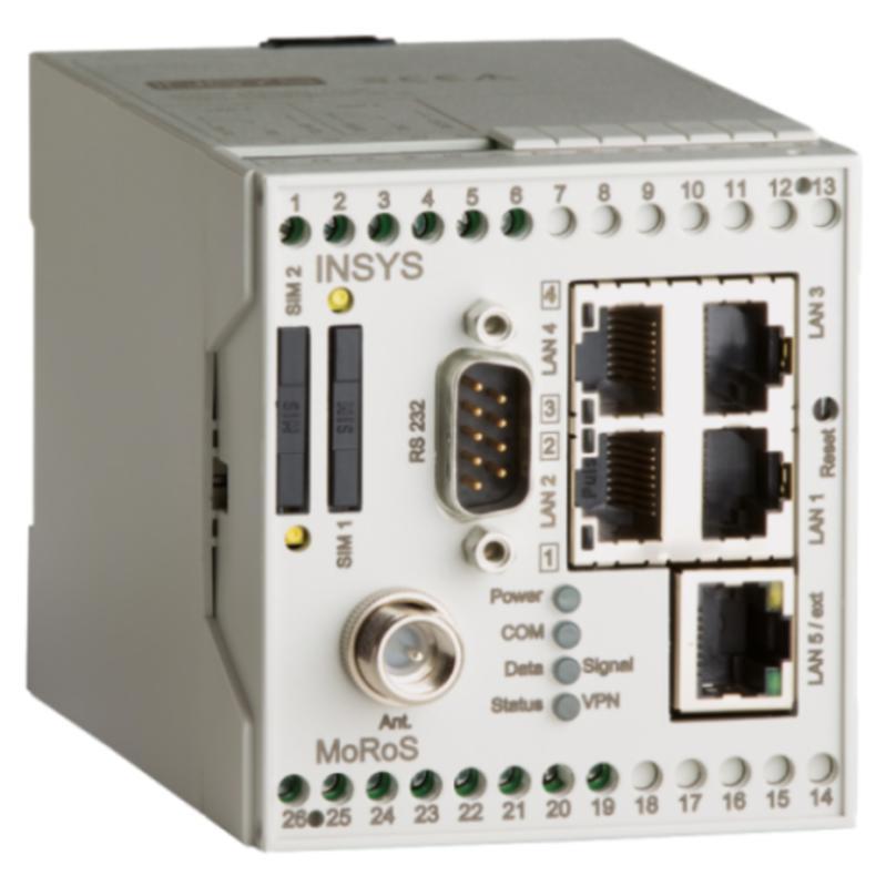 MoRoS GPRS 2G/GPRS-Router, VPN, Full-NAT, programmierbar
