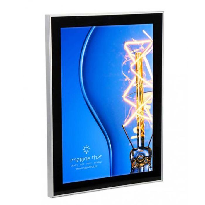 MAGNETISCHE LED-POSTERLIJST Verlichte LED verlichting  - posterlijst met LED verlichting