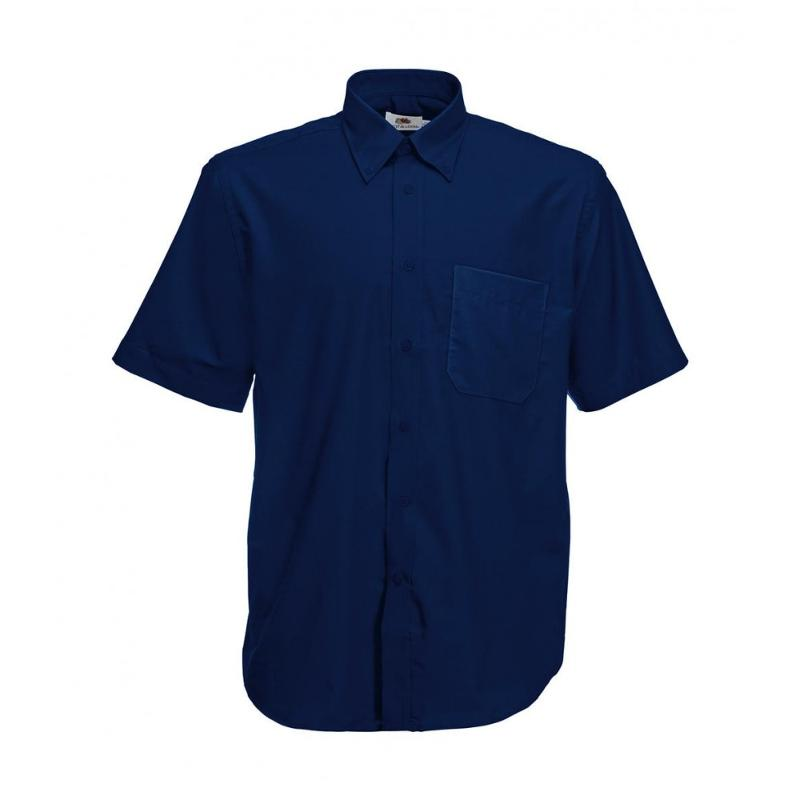 Chemise manches courtes Oxford - Homme