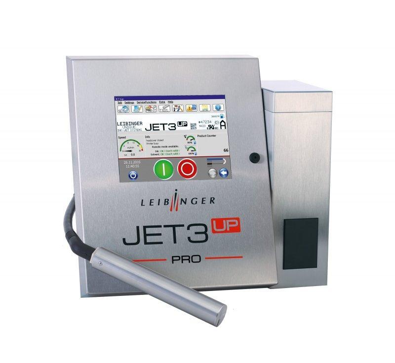 LEIBINGER JET3up PRO - Industrieller Inkjet-Drucker mit IP65