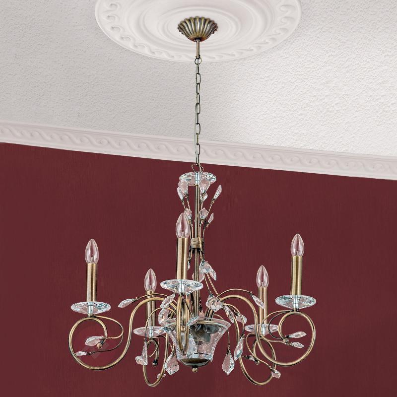 Magnifique lustre Zia à 5 lampes - Lustres classiques,antiques