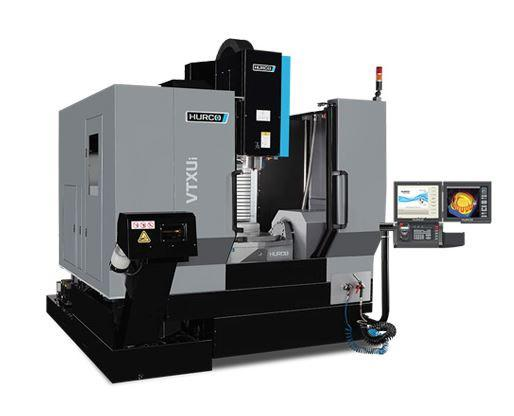 5-Axis-Machining-Center with trunnion table -VTX Ui WZW 48 - The ideal machine for medium sized 5-axis parts