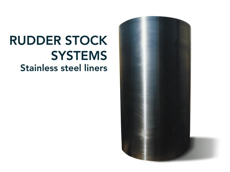 Bush & liner - Shipbuilding - rudder stock system