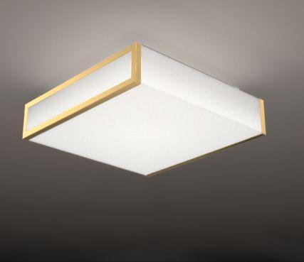 Square glass ceiling light - Model 2045