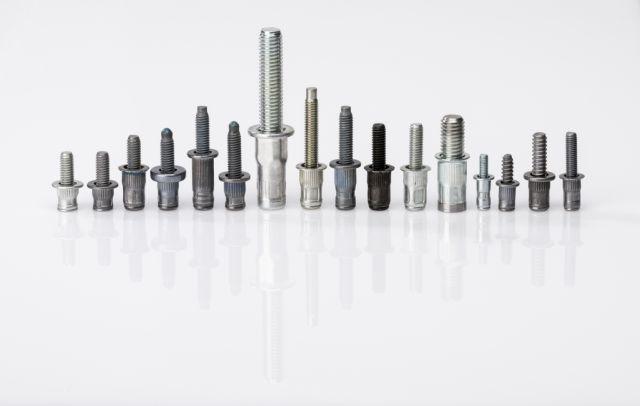 Blind rivet nut studs - Combination of blind rivet nut and stud