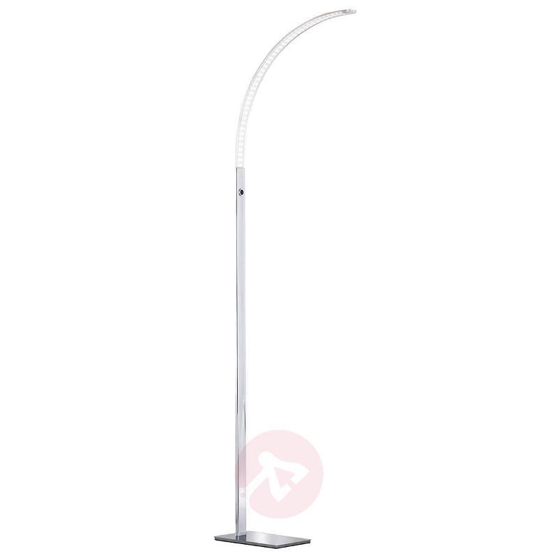 Luz slightly-curved LED floor lamp 165 cm - Arc Lamps