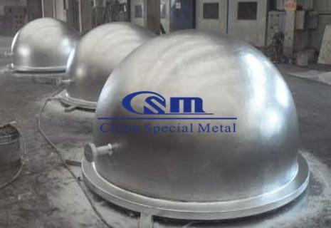 坩埚  Crucible castings - Cast iron crucible, Spheroidal graphite iron crucible